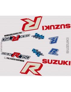 Kit stickers GSXR 750 1985