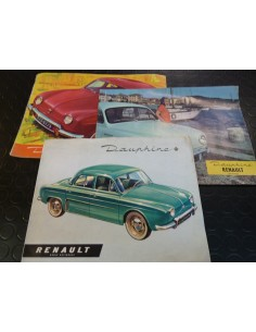 Documents Renault Dauphine