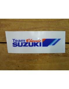 Sticker Team Classic Suzuki