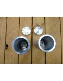 Rallonges + bouchons de fourche GSXR 96/99