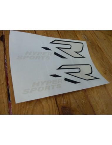 Stickers de réservoir GSXR 1100/89