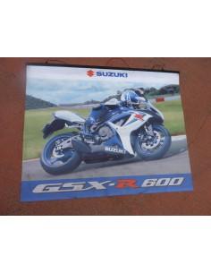 Affiche Suzuki GSXR 600